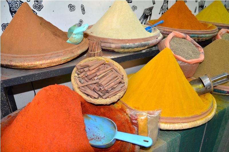 Krydderier Maroko
