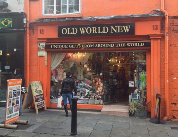 Butikken Old World New i Dublin