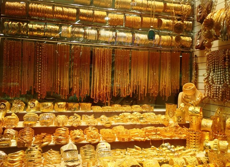 Som turist i Dubai er der ingen ende på, hvor meget guld du kan købe... Hvis du har råd.