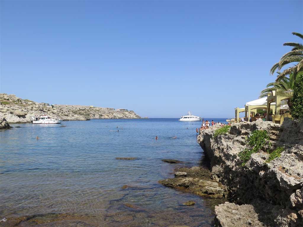 Rhodos, havet