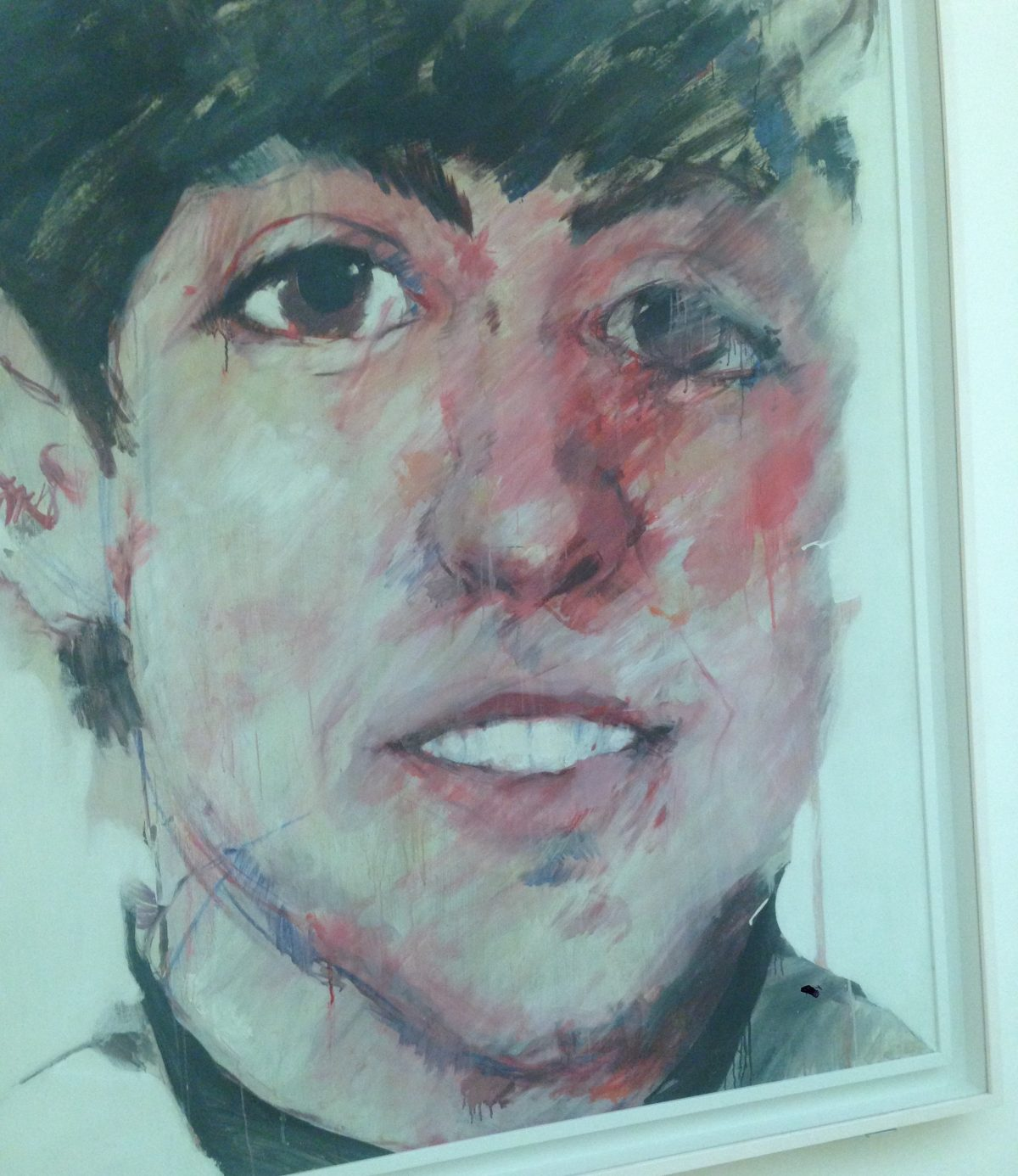 Paul McCartney maleri på National Portrait Gallery