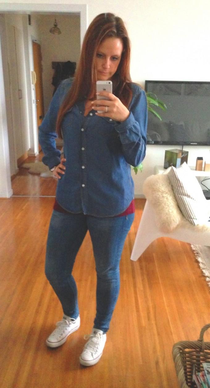 Sko: Converse - Jeans: H&M - Skjorte: SAND