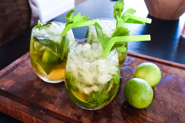 mojito uden sukker og alkohol