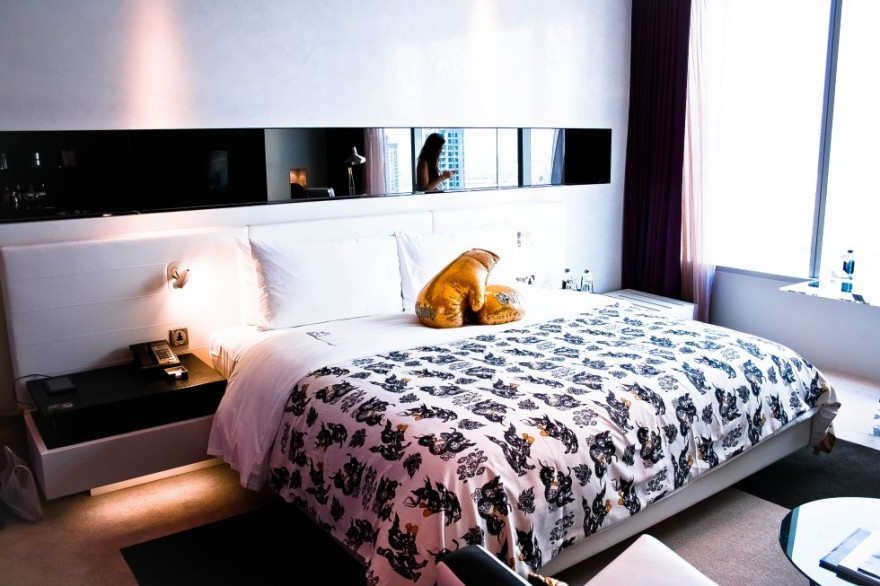 W hotel bangkok review