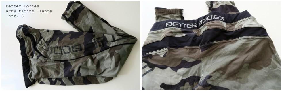 BB army bukser