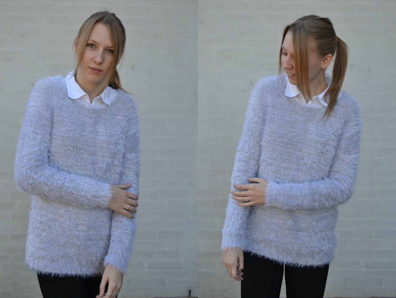 Outfit #39 – En bamset strik   Outfit   Simone Damsfeld