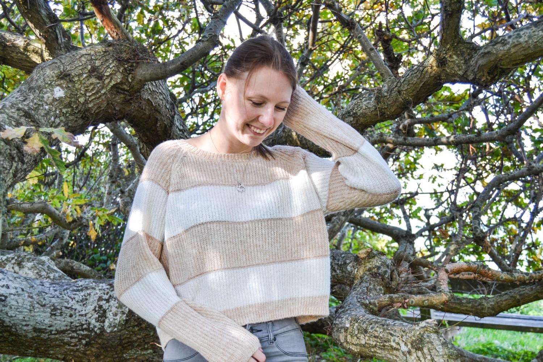 Outfit #91 – Beige strik   Outfit   Simone Damsfeld