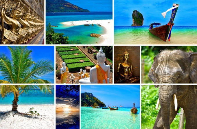 Collage-Thailand