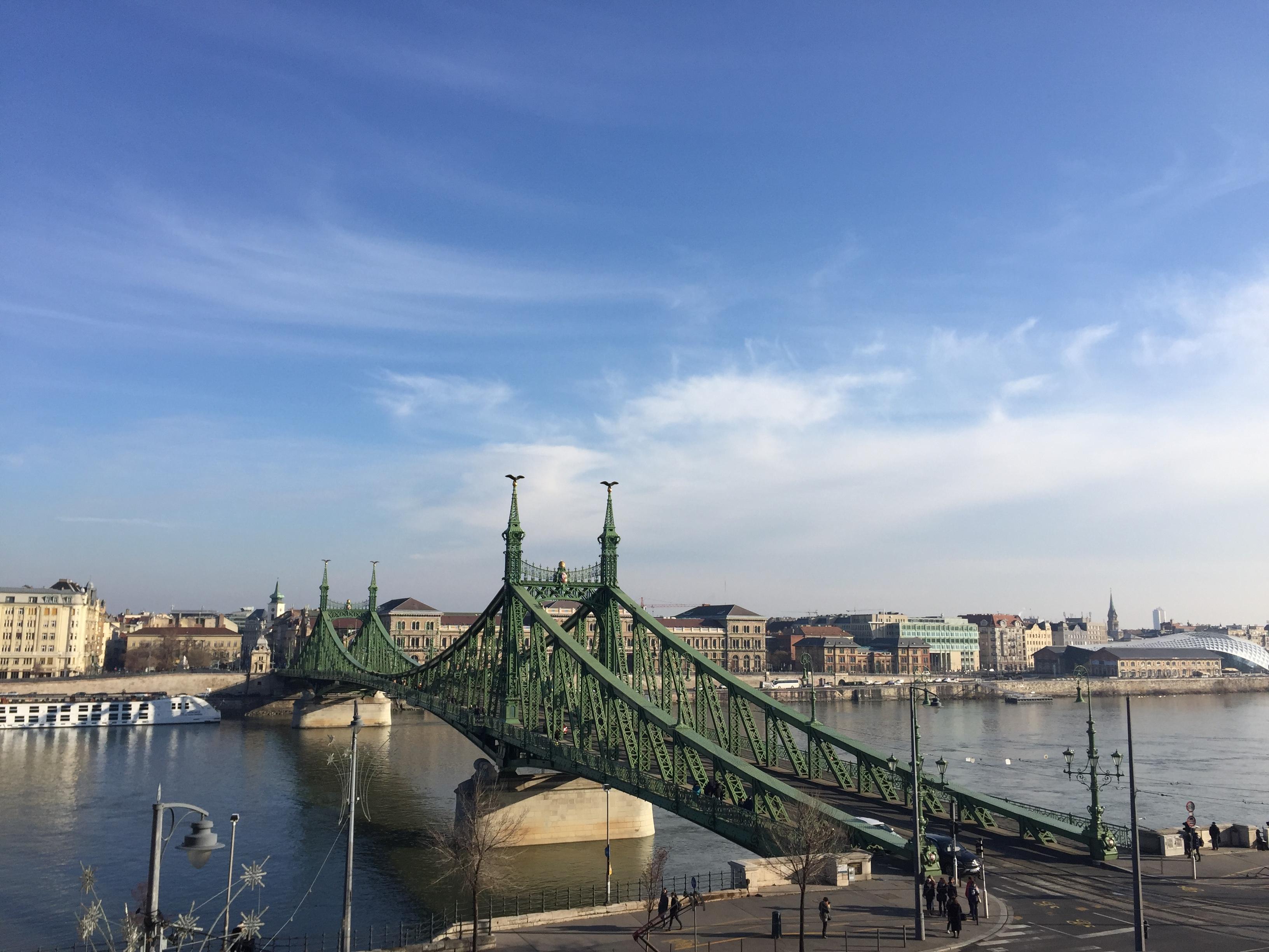 Donau floden i Budapest