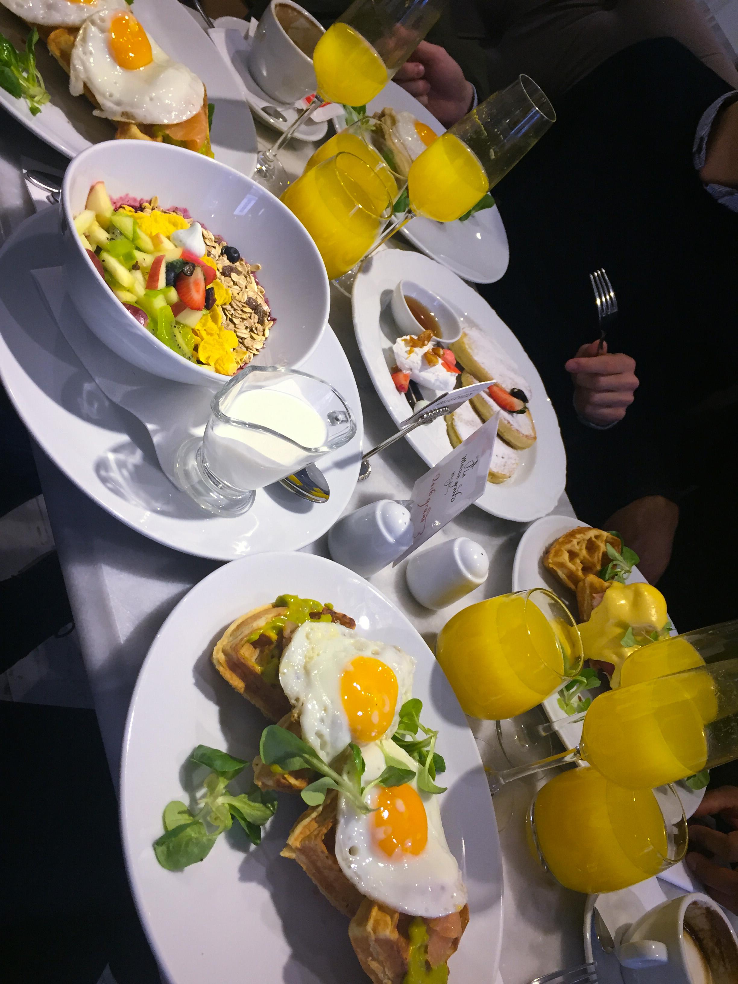 Morgenmad på A la Maison Grand i Budapest