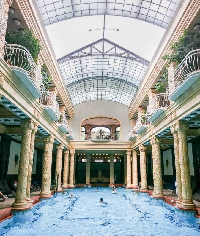 Gellert badet i Budapest