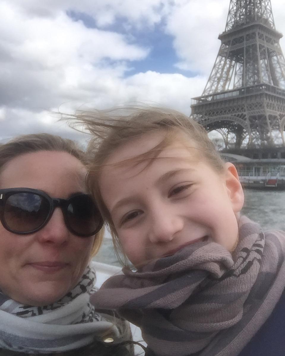 Eiffeltårnet og vind i håret!