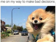 me on my way to make bad decesions