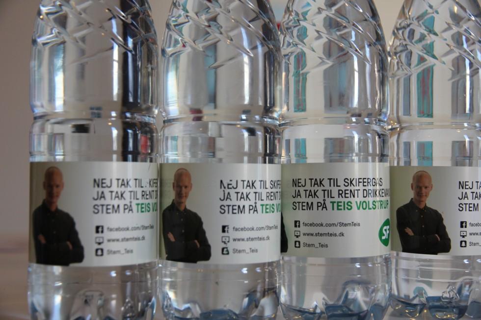 Det vand, der smager bedst er mit eget :)